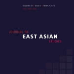 New Journal of East Asian Studies publication by Jaganath Sankaran simulates missile defenses and stability in East Asia